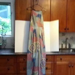 Under Skies Print Maxi Dress.***Anthropology